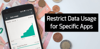How to Restrict Data Usage for Specific Apps On Android