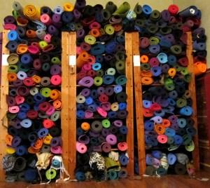 big stack of mats