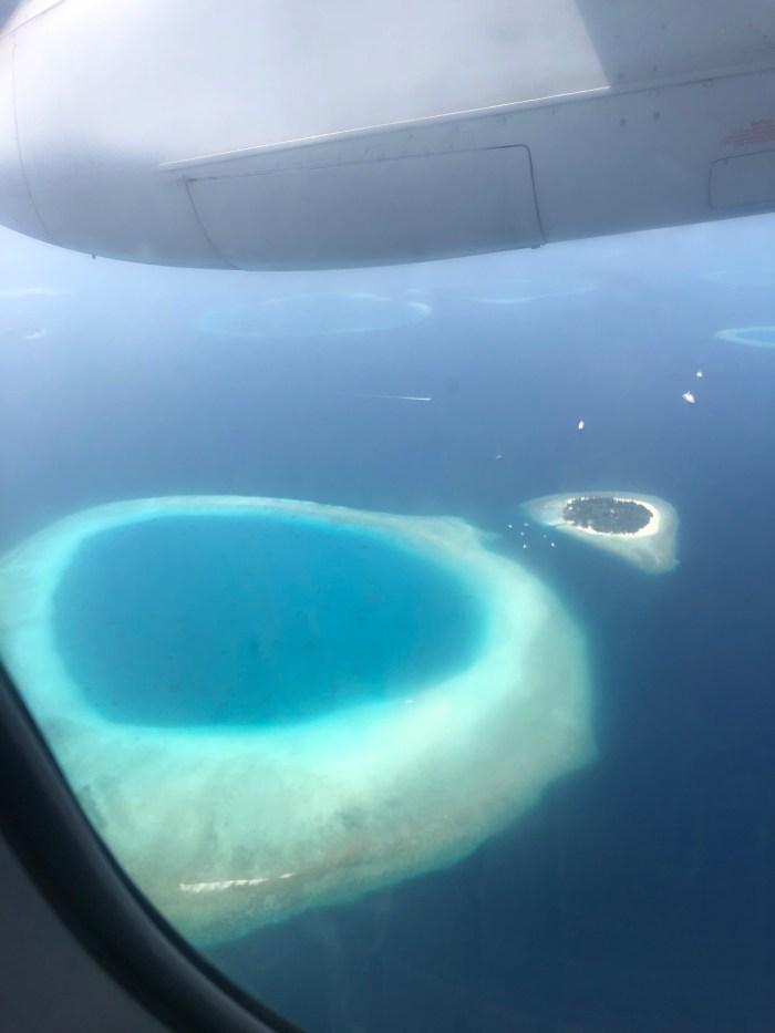 Maldives arrivée