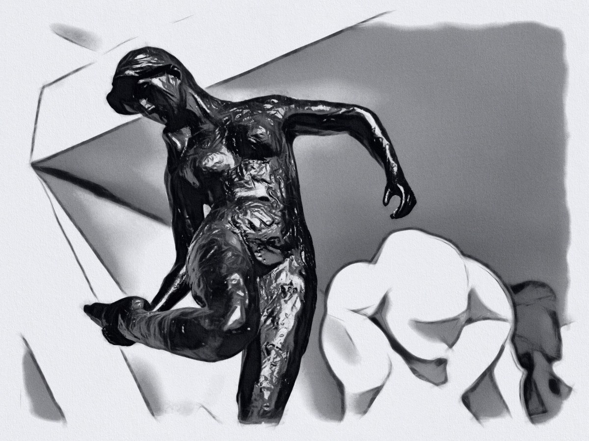 Rodin miniature