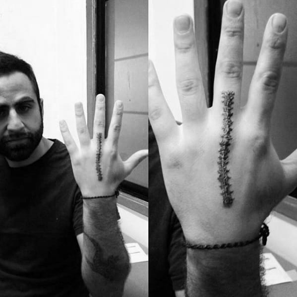 20 Hand Tattoos For Men Cool Simple Ideas And Designs