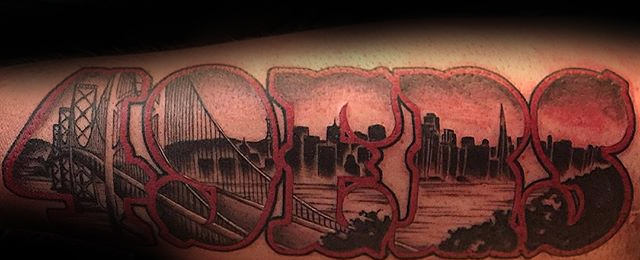 60 Golden Gate Bridge Tattoos For Men San Francisco Ink