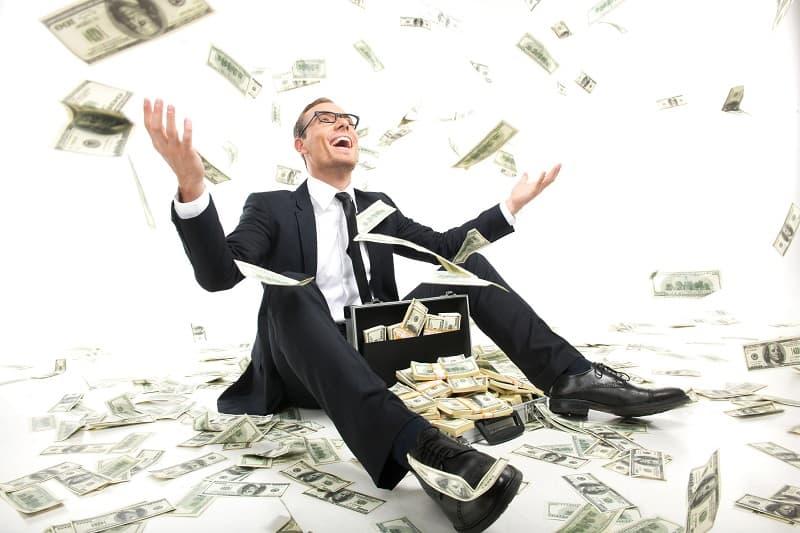 Be Selfish - Successful businessman
