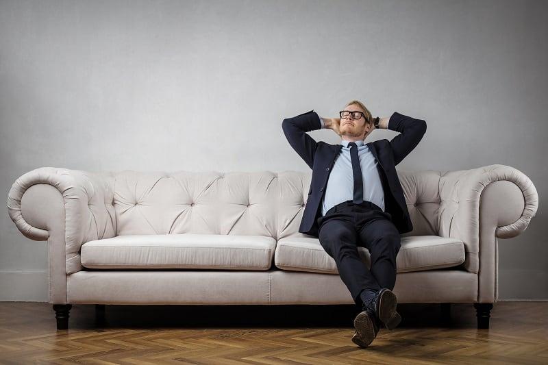 Don't become a fat cat - Successful businessman
