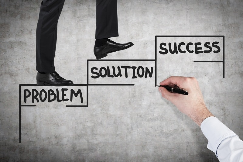 Every problem solved will eventually be replaced by a much larger one - Successful businessman