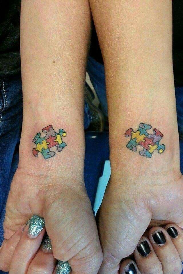 Autism Puzzle Piece Tattoo : autism, puzzle, piece, tattoo, Autism, Tattoos, [2021, Inspiration, Guide]