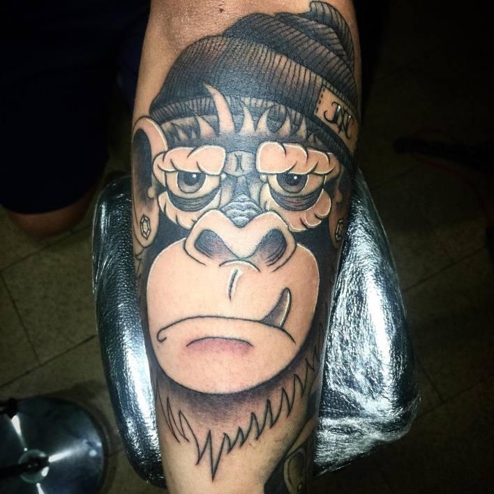Black Monkey Tattoo -al.true
