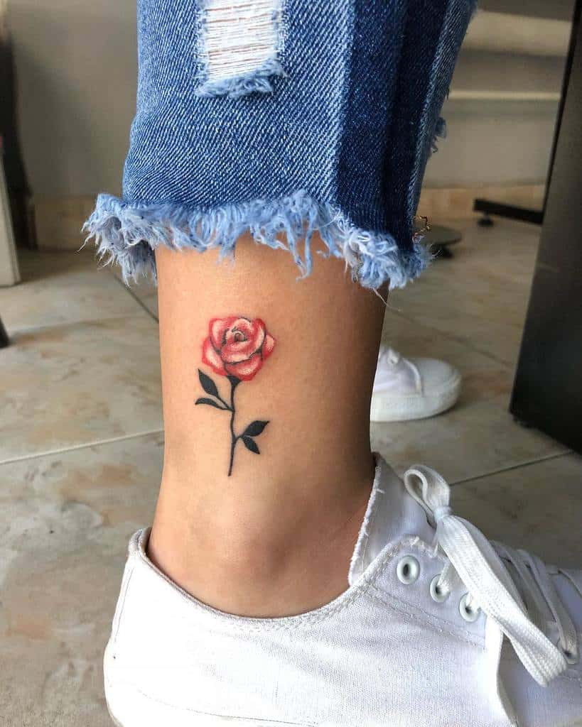 Small Rose Tattoo On Foot : small, tattoo, Small, Tattoo, Ideas, [2021, Inspiration, Guide]