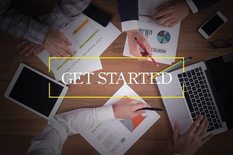 Start today - Successful businessman
