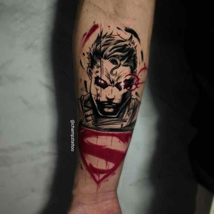 Superman Forearm Tattoo -champztattoo
