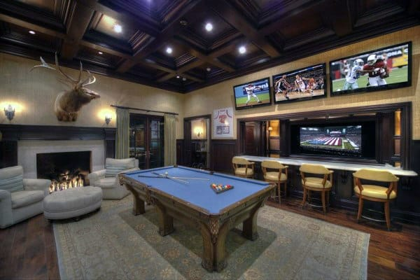 Are you looking for some amazing game room ideas? 60 Game Room Ideas For Men - Cool Home Entertainment Designs