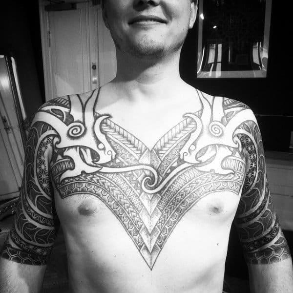 Liverbird Tattoo Chest