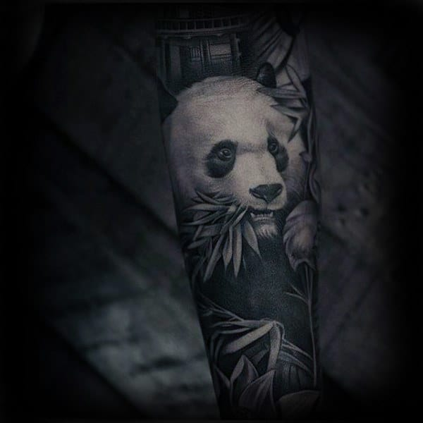 20 Panda Realistic Tattoos Ideas And Designs