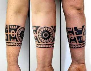 tribal forearm tattoos tattoo armband designs hawaiian polynesian mens band ink tatuajes nextluxury tatuagem antebraco filipino inspiration tatuagens manly braco