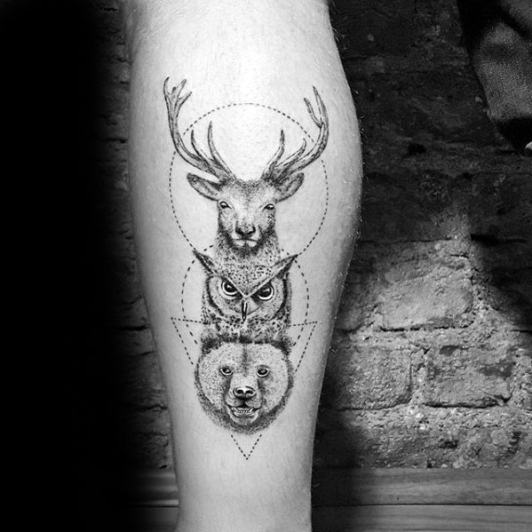 20 Male Animal Tattoos Ideas And Designs