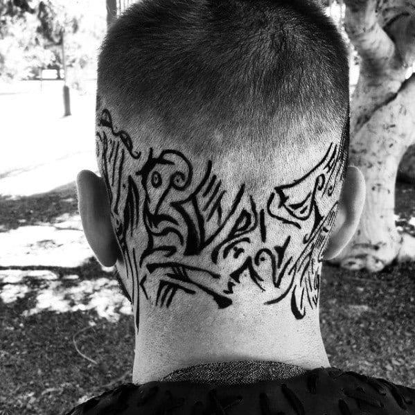 Ragnar Lothbrok Tattoo Kopf