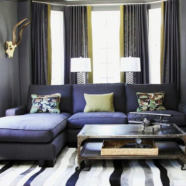 decorating small living room apartment furniture table sets 100 bachelor pad ideas for men masculine designs