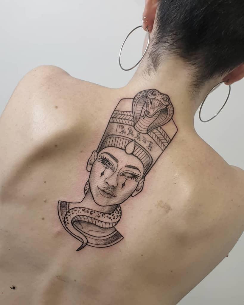 Queen Nefertiti Tattoo Meaning : queen, nefertiti, tattoo, meaning, Nefertiti, Tattoo, Ideas, [2021, Inspiration, Guide]