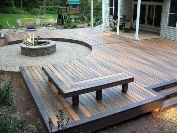 Top 60 Best Floating Deck Ideas  Contemporary Backyard