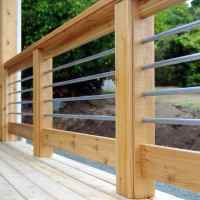 Top 50 Best Metal Deck Railing Ideas - Backyard Designs