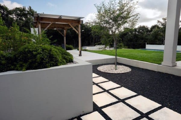 Top 70 Best Modern Landscape Design Ideas