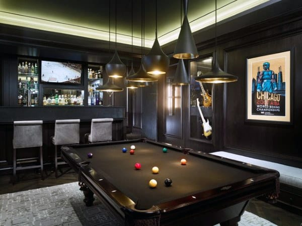 Since march 2020, we've worked, learned, and possibly even dated from home. 60 Game Room Ideas For Men - Cool Home Entertainment Designs
