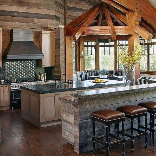 Top 60 Best Rustic Kitchen Ideas  Vintage Inspired