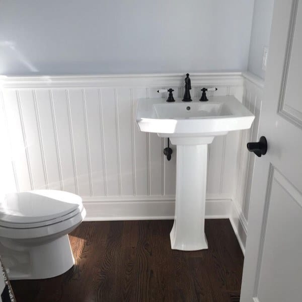 wainscoting ideas for living room white faux wood blinds in 60 unique millwork wall covering and paneling bathroom beadboard