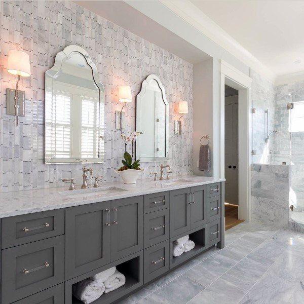 Top 50 Best Bathroom Mirror Ideas  Reflective Interior