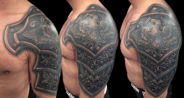 Cover Up Tribal Armband Tattoo