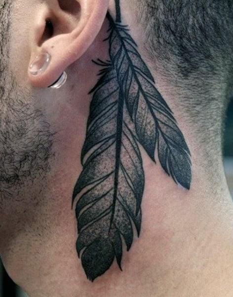 Behind Ear Tattoo Men : behind, tattoo, Tattoo, Ideas, [2021, Inspiration, Guide]