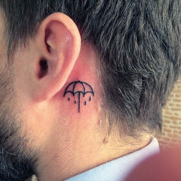 Small Music Notes Tattoos Guys