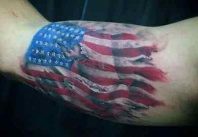 American Flag Tattoo Designs Tattoos For Men