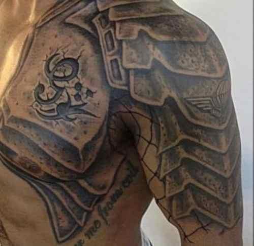 Gladiator Sleeve Tattoo Ideas
