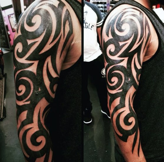 Tribal Sleeve Tattoos For Women