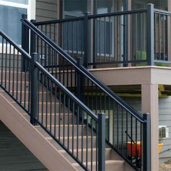 Top 50 Best Metal Deck Railing Ideas
