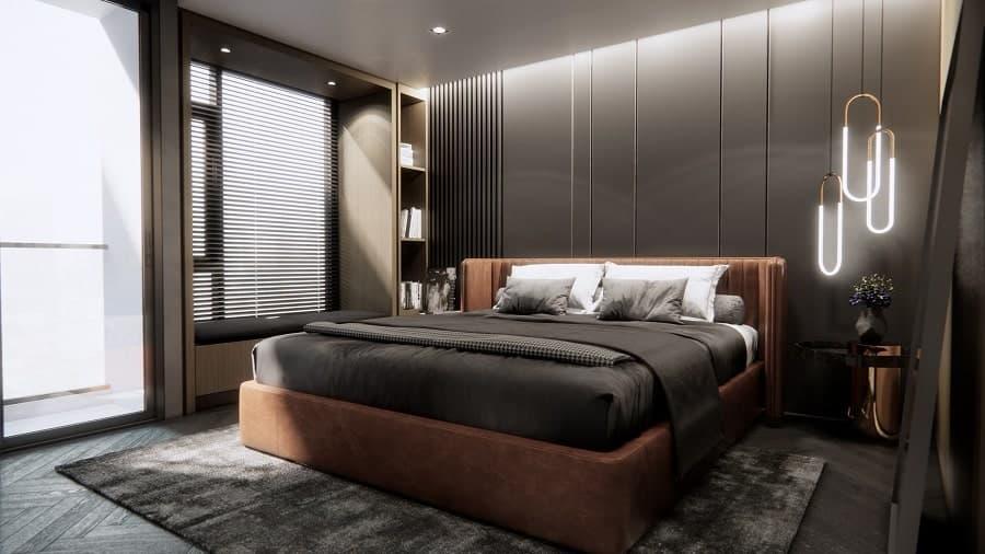Bachelors Room Interior Design
