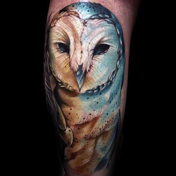 20 Dark Barn Owl Tattoos Ideas And Designs