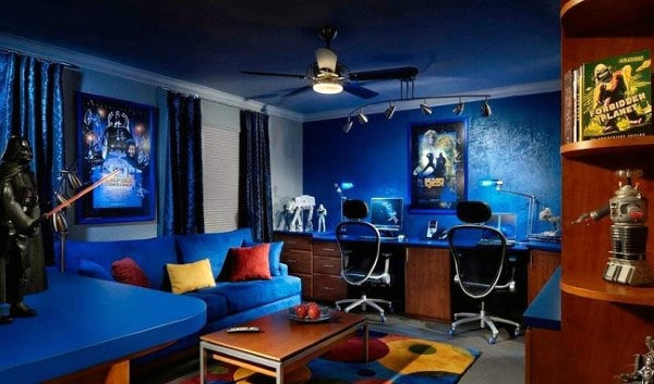 You don't need a degree in political science. 60 Game Room Ideas For Men - Cool Home Entertainment Designs