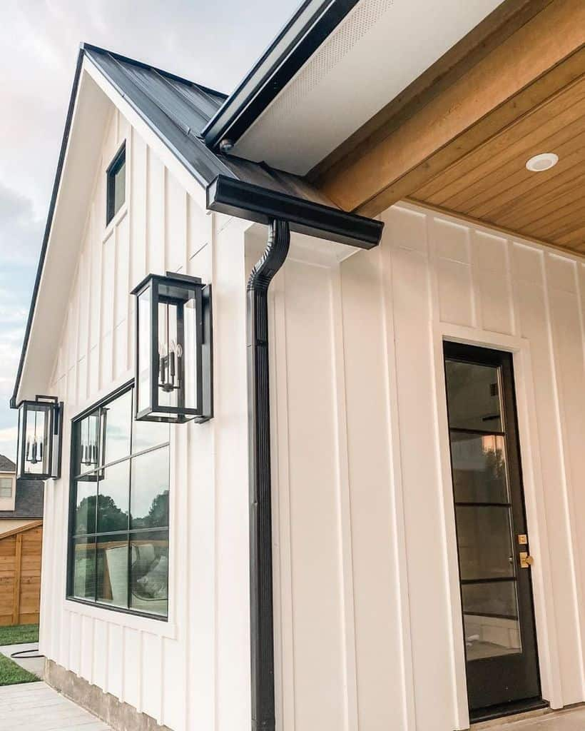 The Top 40 Best Modern Farmhouse Exterior Ideas Exterior Home Design
