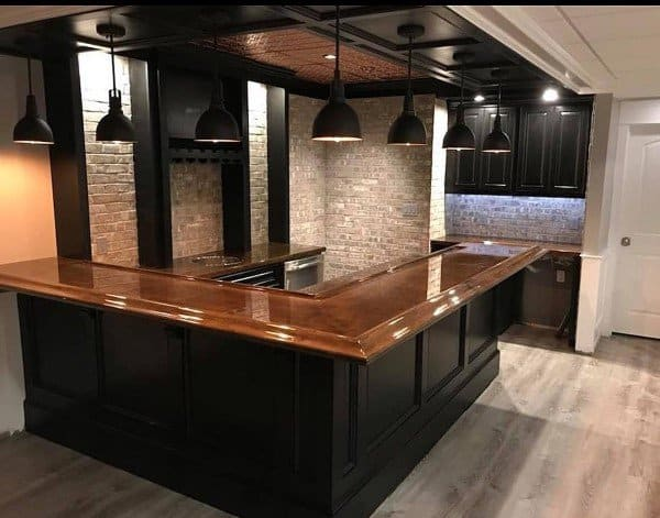 kitchen counter top ideas tall table with bench 60 best bar - unique countertop designs
