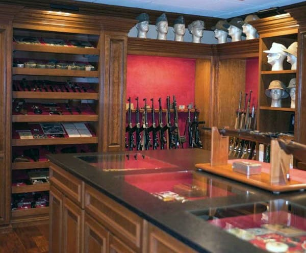 Top 100 Best Gun Room Designs  Armories Youll Want To