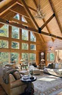 Top 70 Best Vaulted Ceiling Ideas - High Vertical Space ...