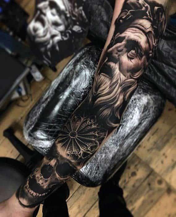 Badass Arm Tattoos : badass, tattoos, Badass, Forearm, Tattoos, Masculine, Design, Ideas
