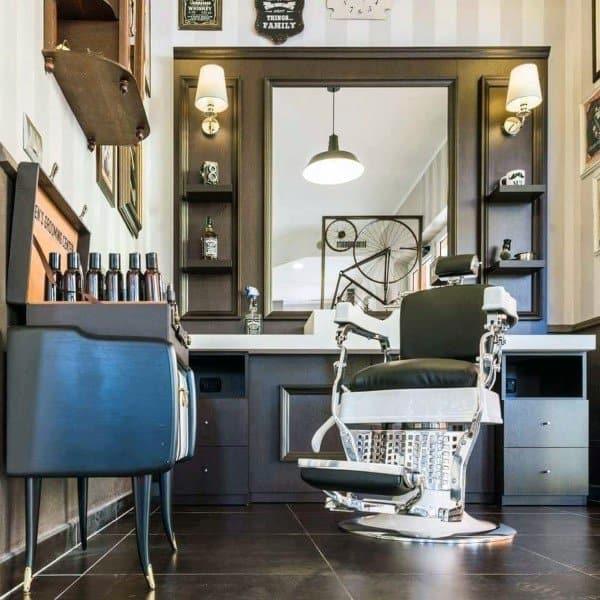 Top 80 Best Barber Shop Design Ideas - Manly Interior Decor
