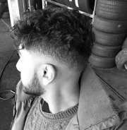 curly fade haircuts men