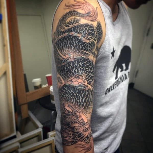 Dragon Tattoos Sleeve