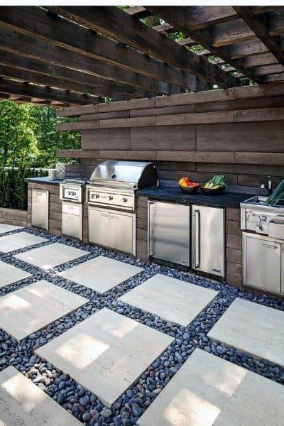 top 60 best outdoor kitchen ideas