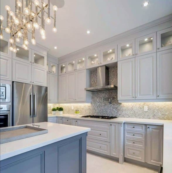 cool kitchen light fixtures outside countertops top 50 best island lighting ideas interior contemporary chandelier