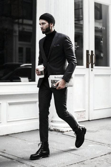 images Black Style Formal Black Style Shirts For Men 40 all black outfits for men bold
